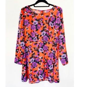 Free People Floral Dress size 4